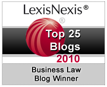 LexisNexis Top Business Blogs 2010