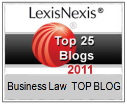 LexisNexis Corporate & Securities Law Community 2011 Top 50 Blogs