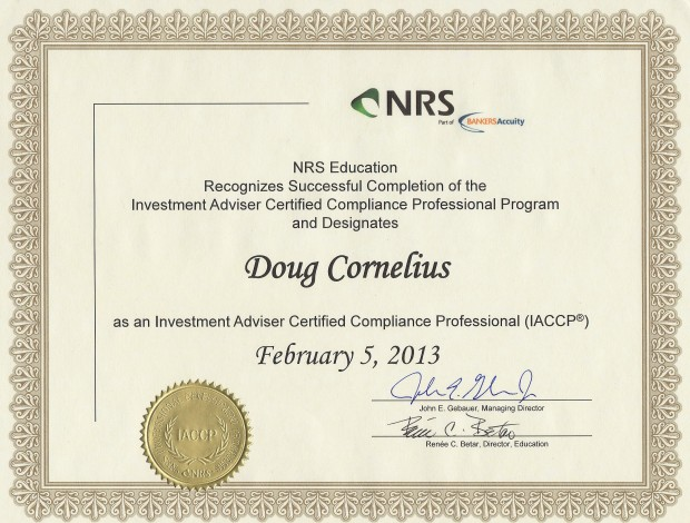 Investment adviser certified compliance professional compliance building - Compliance officer certification programs ...
